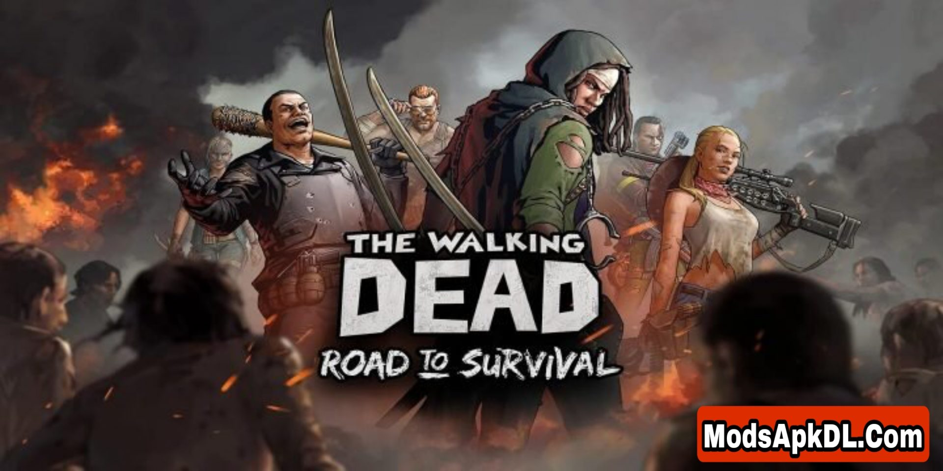 The Walking Dead: Road to Survival MOD APK Free Download